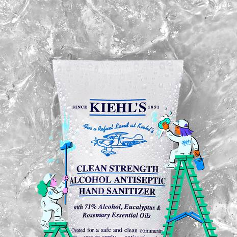 Clean Strength Alcohol Antiseptic Hand Sanitizer