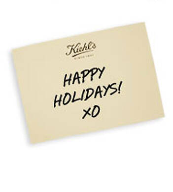 Holiday Gift Greeting Card