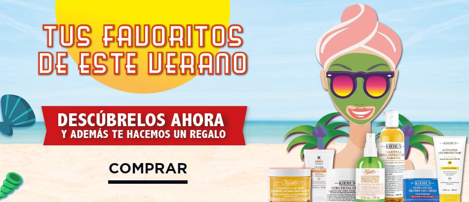 Kiehls summer productos naturales
